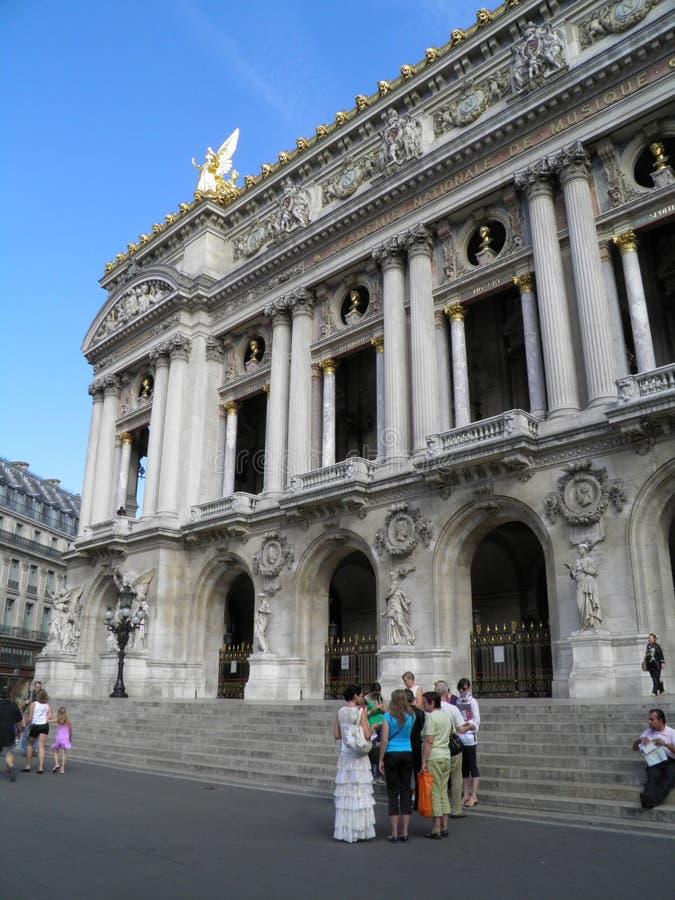 Paris Opera Theatre stock images