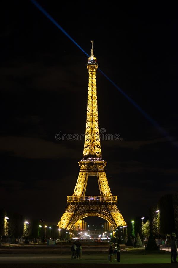 Paris på natt 2 royaltyfri foto