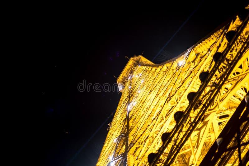 Paris på natt 6 royaltyfri bild