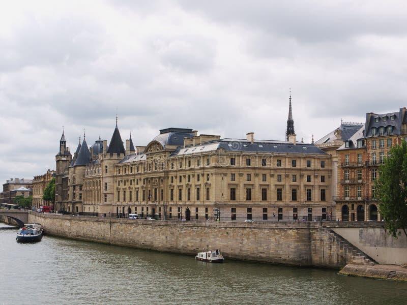 Paris, Palace of Justice stock image