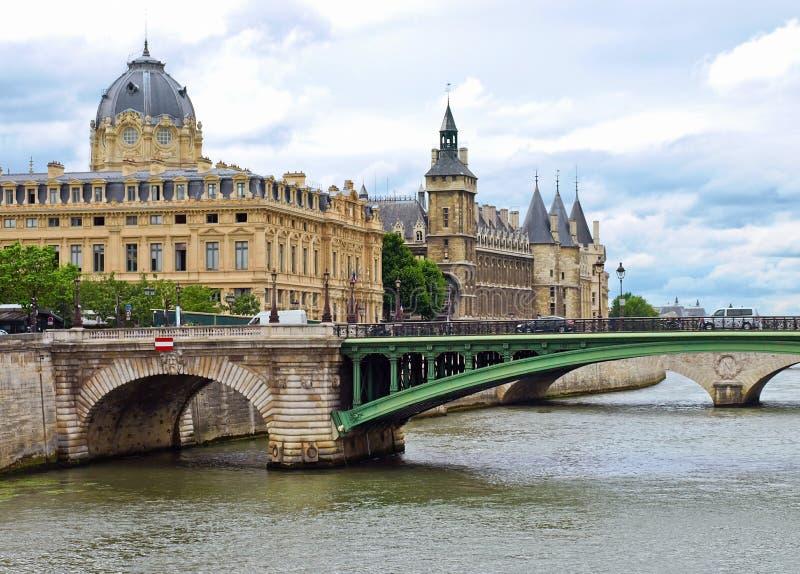 Paris - Palais De Justice Stock Image