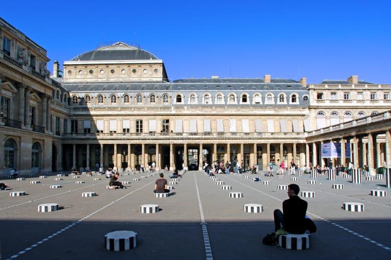 Paris palais royal france zdjęcia stock
