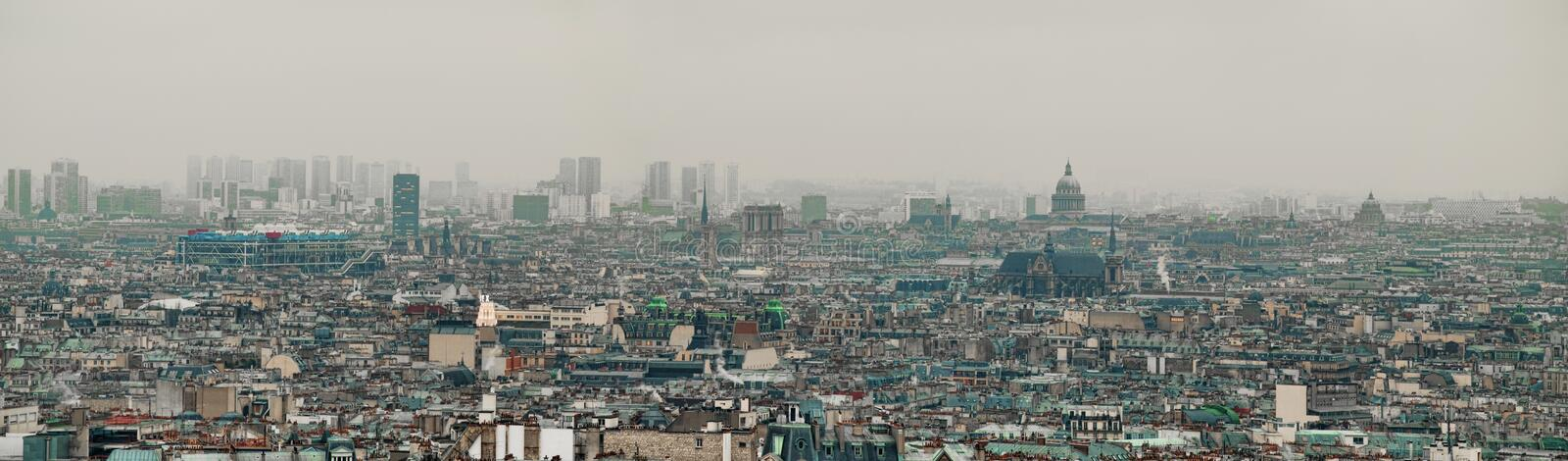 Download Paris panoramic view stock photo. Image of cityscape - 12620282