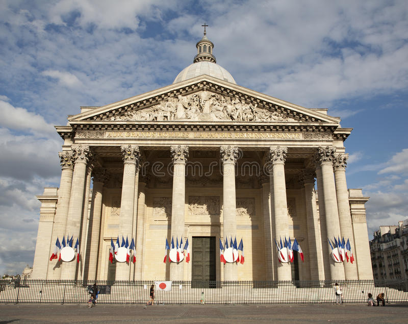 Download Paris - Pantheon stock image. Image of square, classicism - 20027957