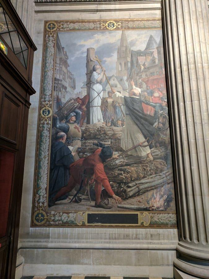 Paris-Pantheon stockbilder