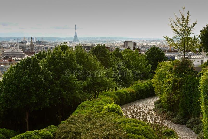 Download Paris Parc de Belleville stockbild. Bild von aufsatz - 27733127