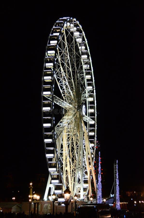 Paris pariserhjul royaltyfri fotografi