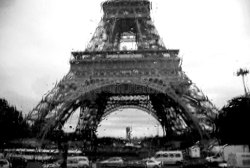 Paris pleure photo stock