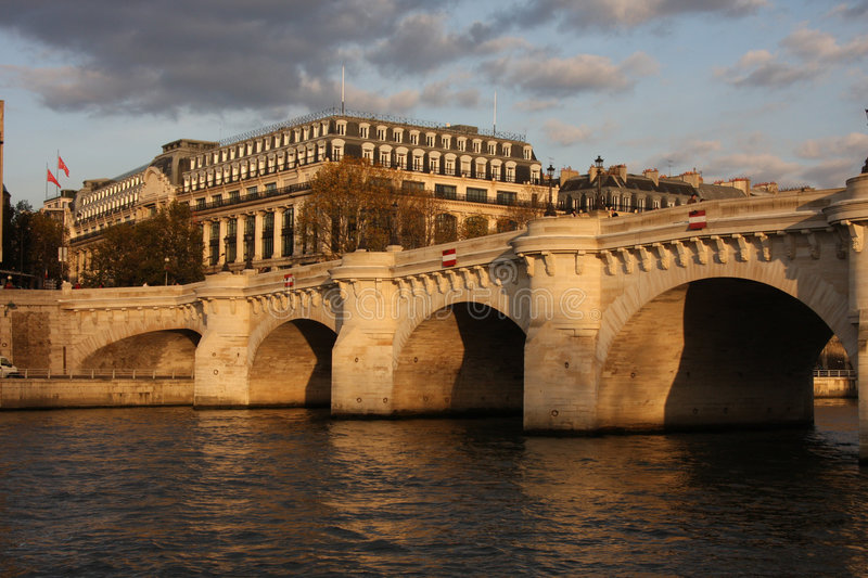 Paris Pont Neuf royalty free stock photography