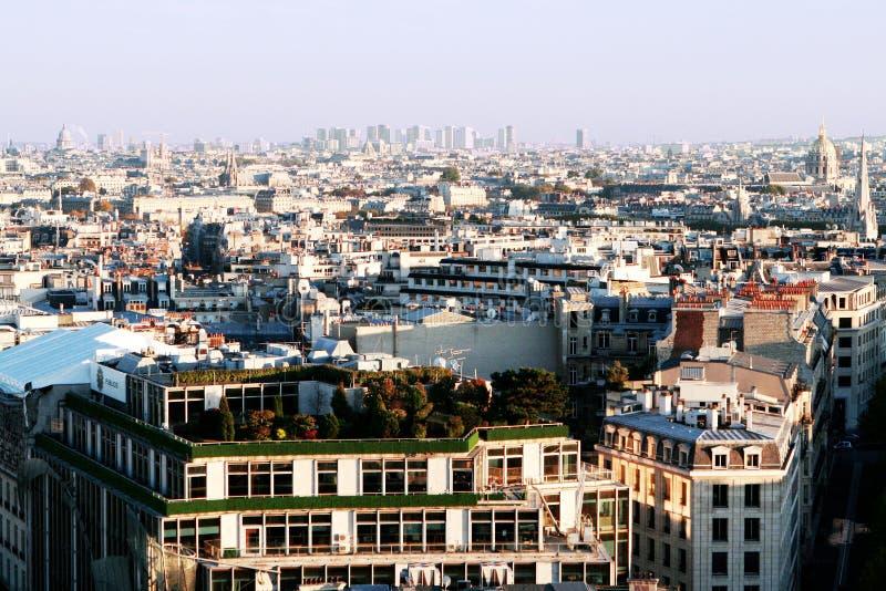 paris powietrzny widok obrazy stock