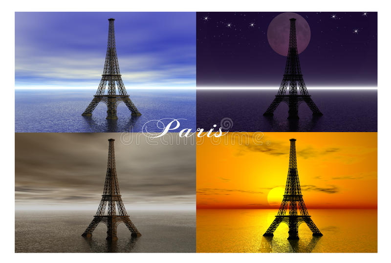 Download Paris. stock illustration. Image of city, design, cityscape - 40245214