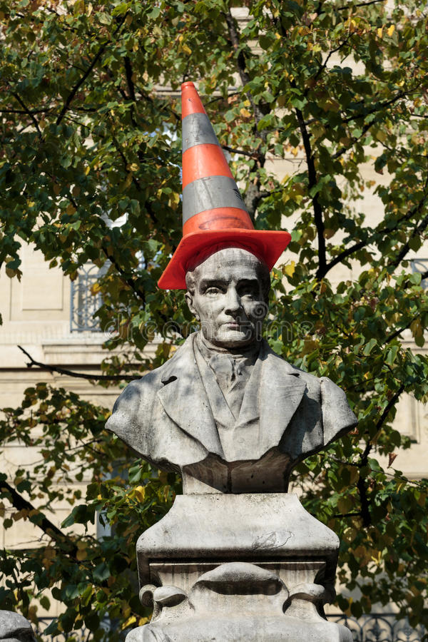 Paris - quadrado de Sorbonne fotos de stock royalty free