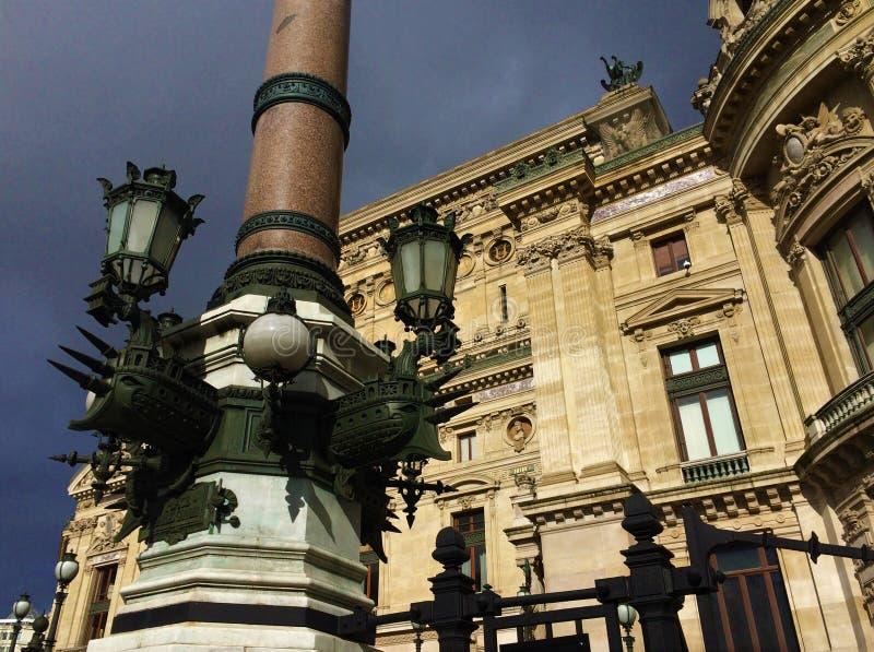 Paris region av Grands Boulevards arkivfoton
