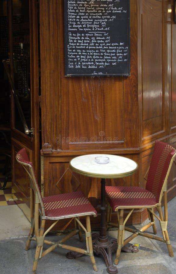 paris restauracja zdjęcie royalty free