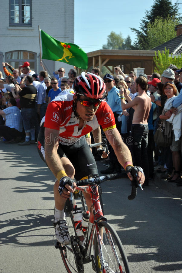 Paris Roubaix 2011 - Tomas Vaitkus Editorial Photo