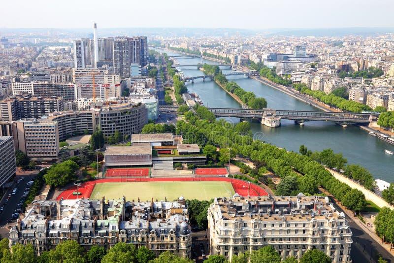 Paris, saisi de Tour Eiffel images libres de droits