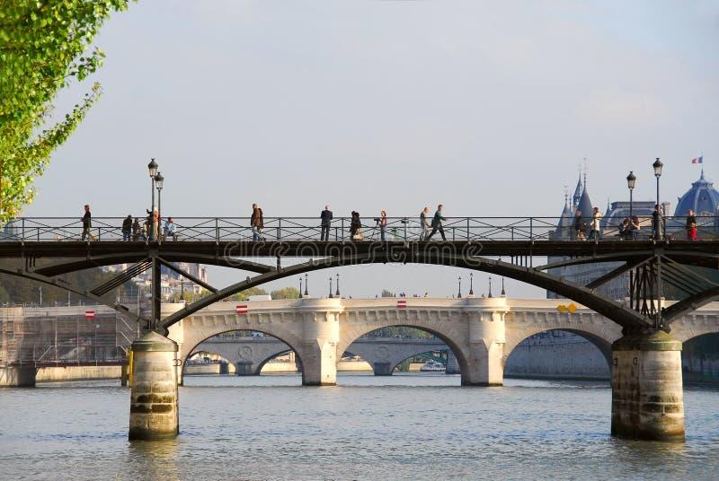 Paris Seine lizenzfreie stockbilder