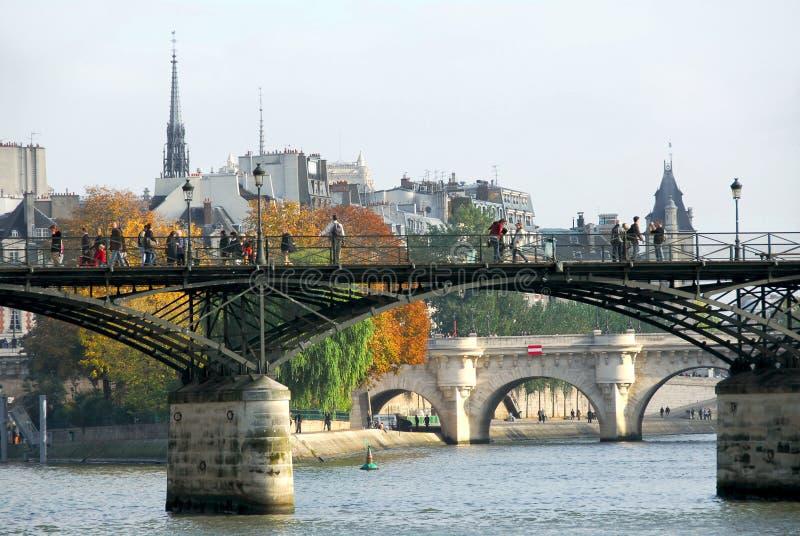 Paris Seine lizenzfreie stockfotografie