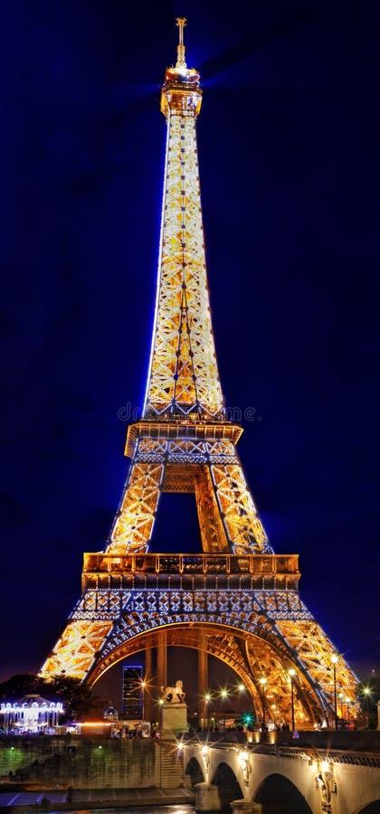 PARIS - SEPTEMBER 18: Ljus kapacitetsshow på September 18, 20 royaltyfri fotografi