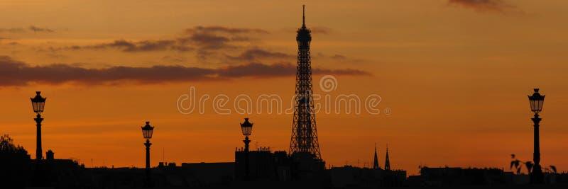 Paris-Skyline stockbilder