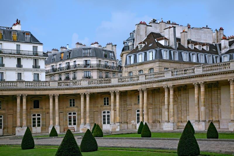 Paris, skyline do Marais foto de stock royalty free