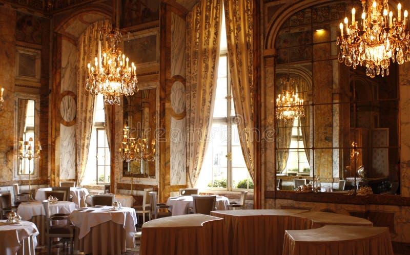 PARIS: Slotthotell av Crillon arkivfoto
