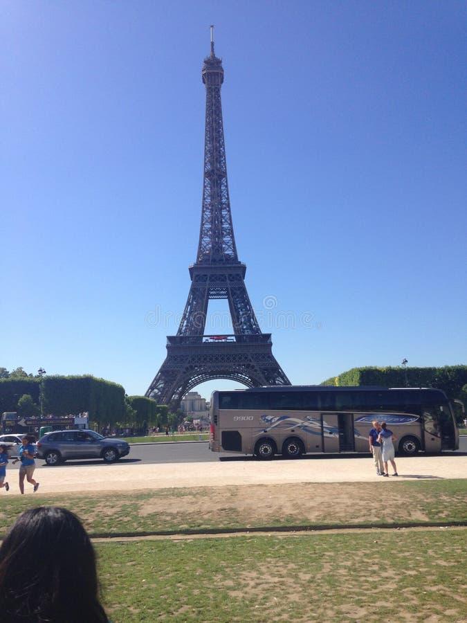 Paris sommar arkivfoto