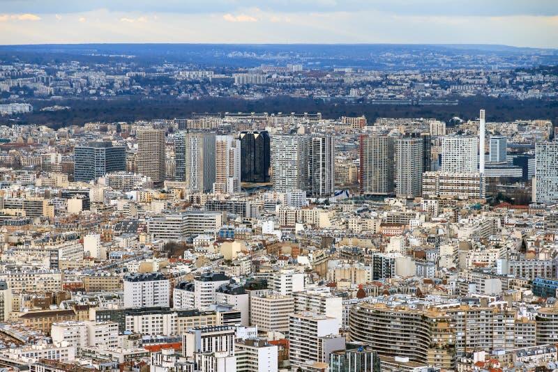 Paris stadsbyggnad royaltyfria foton