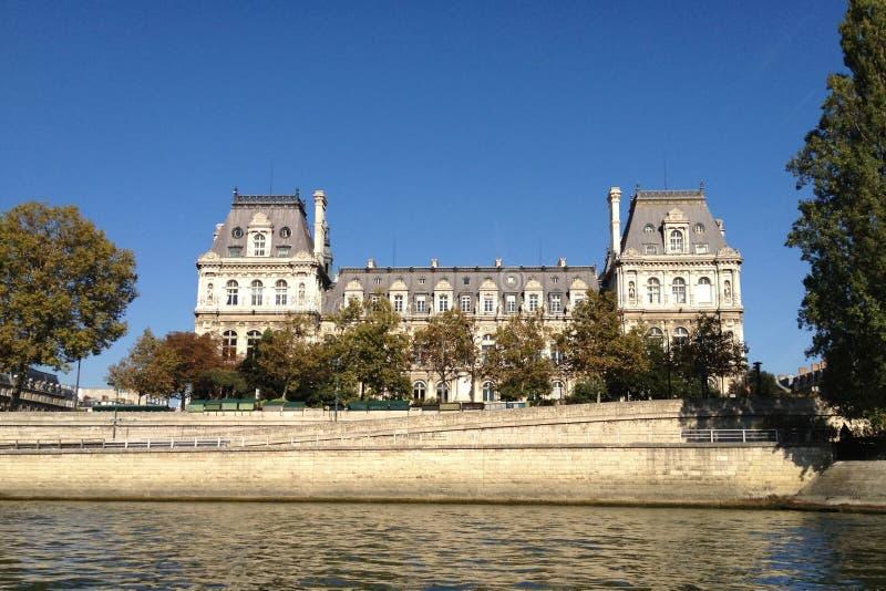Paris stadshus - Frankrike royaltyfria foton