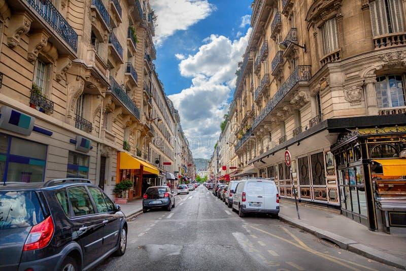 paris street zdjęcie royalty free