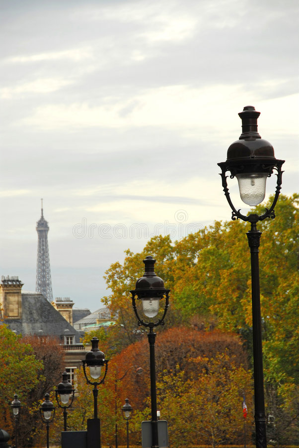 Free Paris Street Stock Image - 1674691