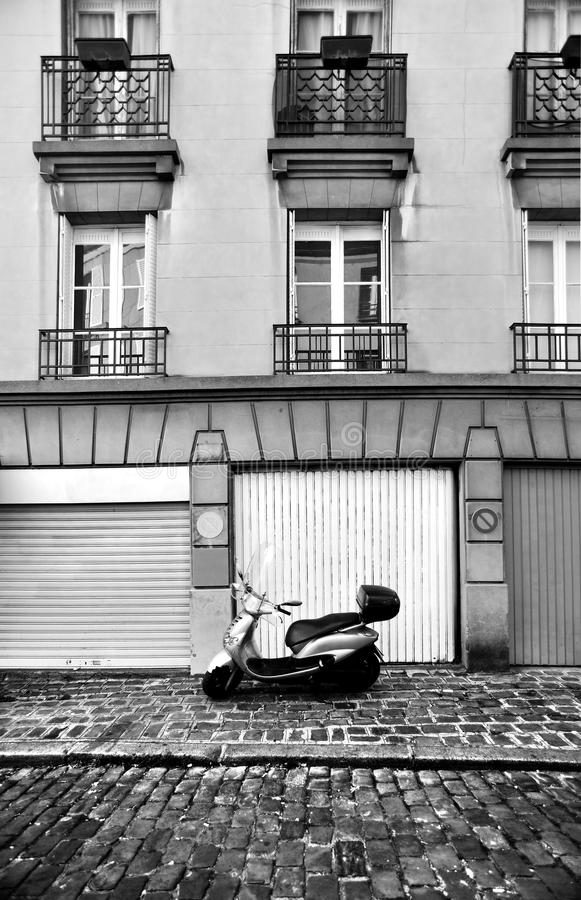 Download Paris street scene stock photo. Image of garage, history - 18028916
