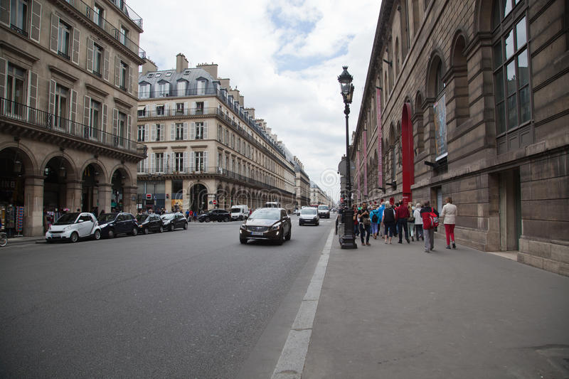 Paris Street royalty free stock image