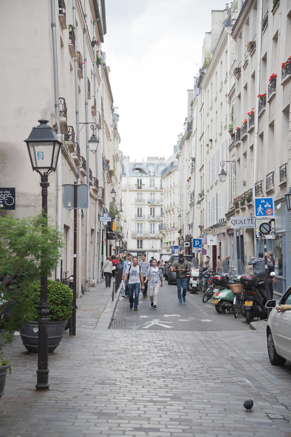 Paris Street royalty free stock photo