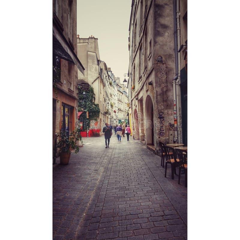 Paris Street stock image