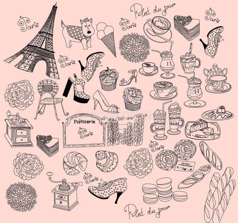 paris symbole ilustracja wektor