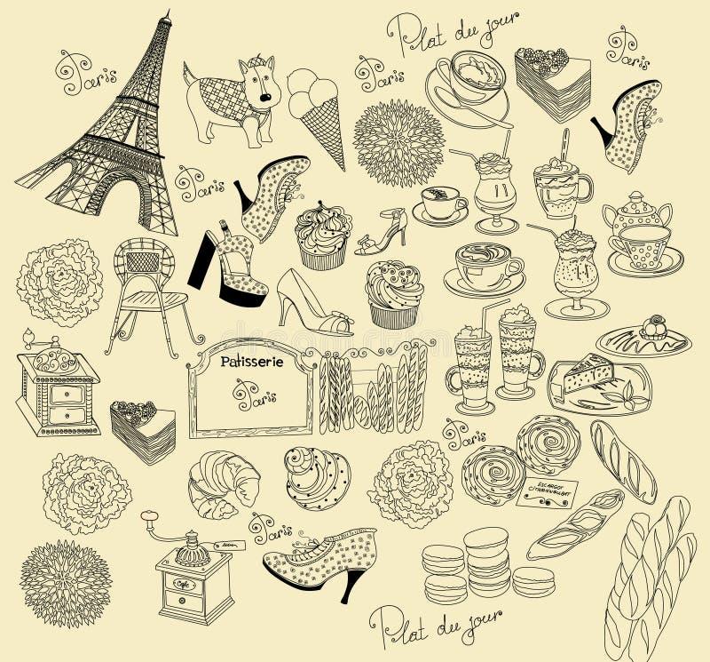 paris symbole ilustracji