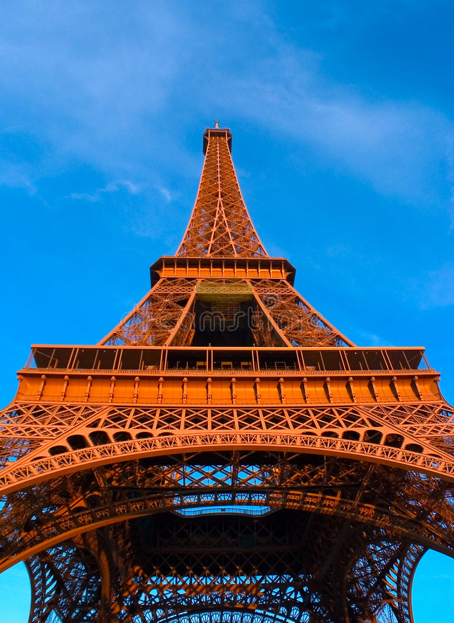 Paris - torre Eiffel fotografia de stock royalty free