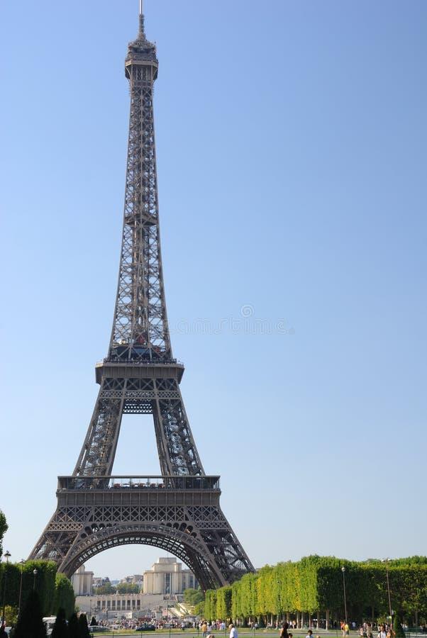 Paris - torre Eiffel fotos de stock