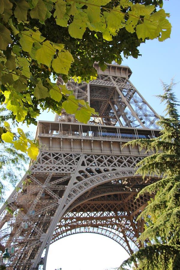 PARIS - TORRE EIFFEL arkivfoton