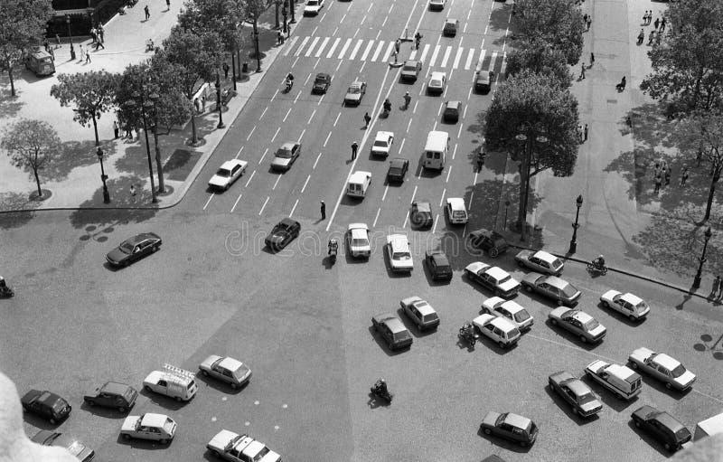 Paris Traffic stock photography