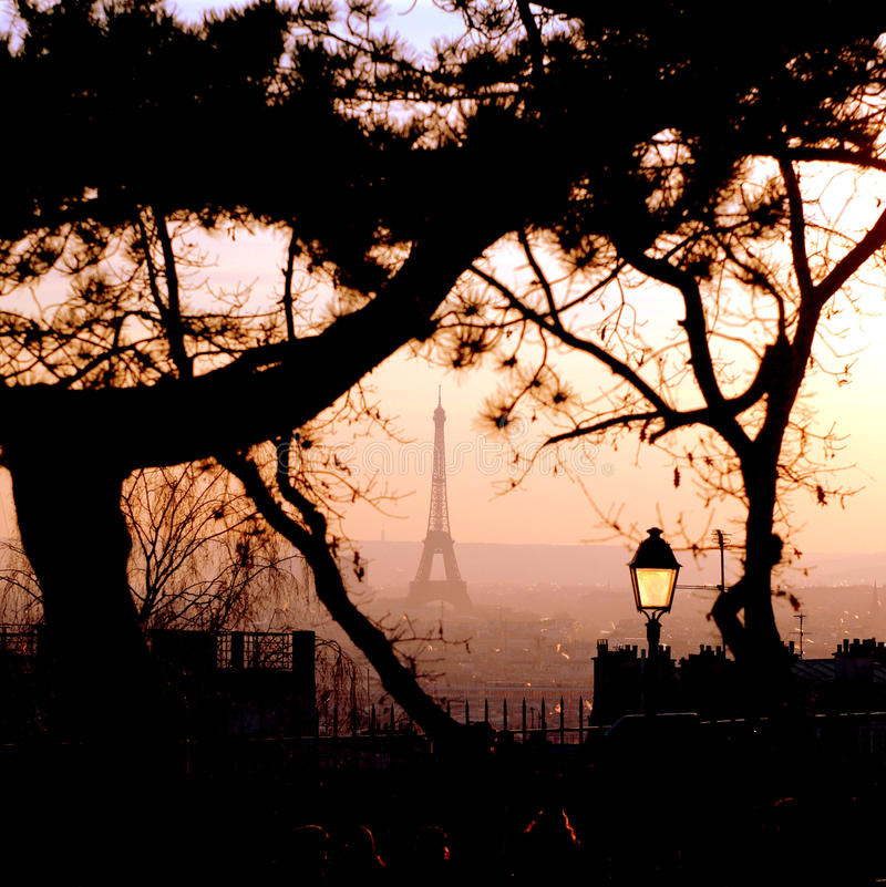 paris ulica fotografia royalty free