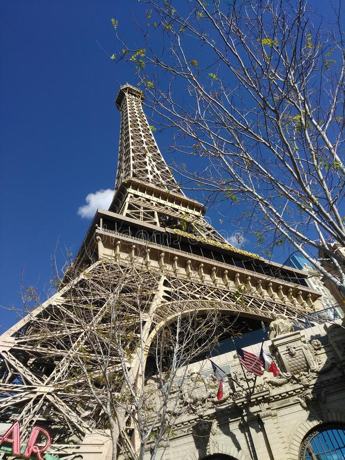 Paris in Vegas royalty free stock photography