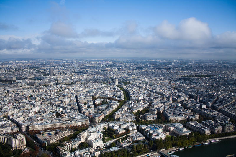 Paris view of the city royalty free stock photo