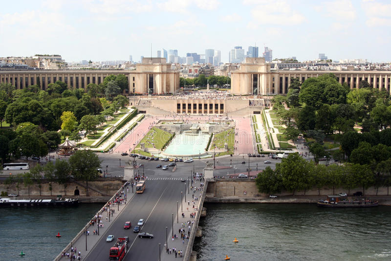 Download Paris, View On The Trocadero Stock Image - Image: 16942063