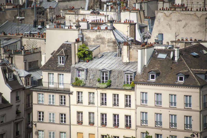 Download Paris vista de cima de imagem de stock. Imagem de sightseeing - 29832653