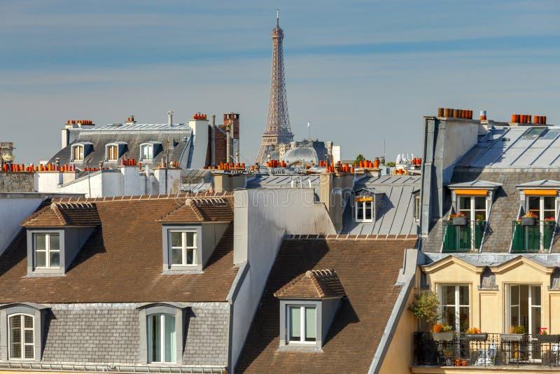 paris Vogelperspektive der Stadt stockbilder