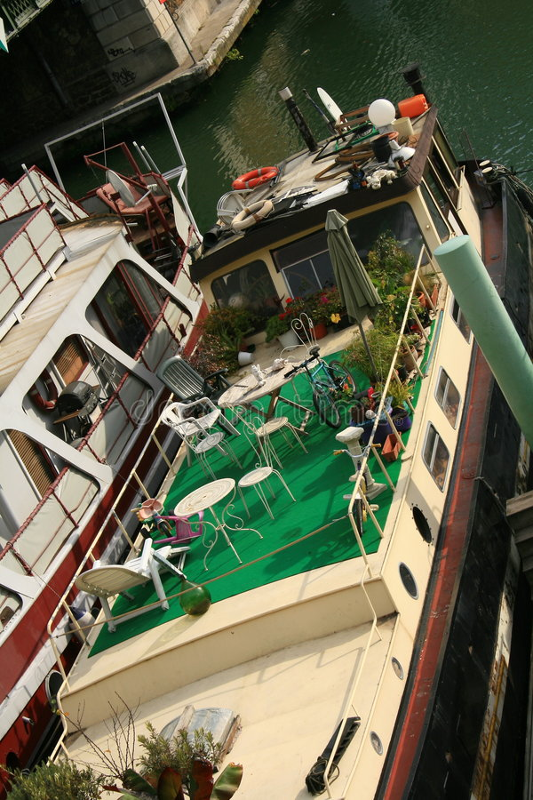 Download PARIS WAY OF LIFE stock photo. Image of boat, river, europe - 3755774