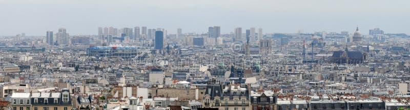 Paris - white famous capital city aerial view. Paris - white famous european capital city aerial view stock photos