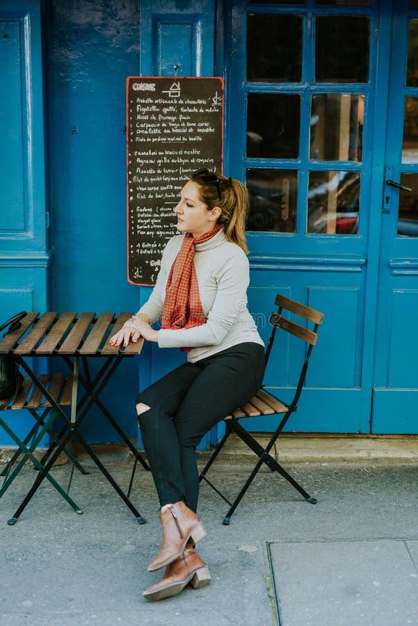 In Paris stock image